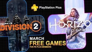 PS PLUS MARCH 2020 Free PS4 Games Line Up (INSANE PLAYSTATION GAMES!!) News, Leaks & Rumors