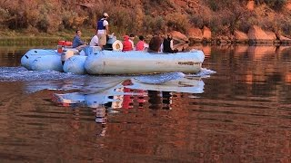 Rafting thru Glen Canyon with Colorado River Discovery