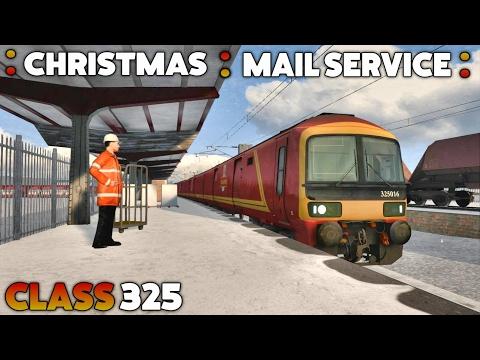 Train Simulator 2017 - Class 325: Royal Mail Christmas Train (Darlington via Durham)