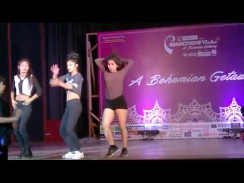 Rendezvous 2017 IIT Delhi - Solo dance finalist - Girls
