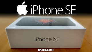 iPhone SE  Unboxing and Review 4K