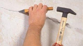 Трещины в стенах дома, как этого избежать. Ремонт дома.(Как обычно и бывает, после постройки дома через некоторое время на нем можно обнаружить разного рода..., 2013-06-04T19:54:58.000Z)