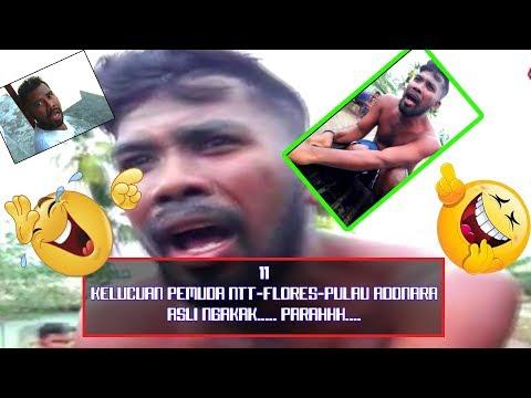11 Video LUCUuuu... Parahhhh, Kelakuan Pemuda (NTT-Flores-Pulau Adonara) yang satu ini