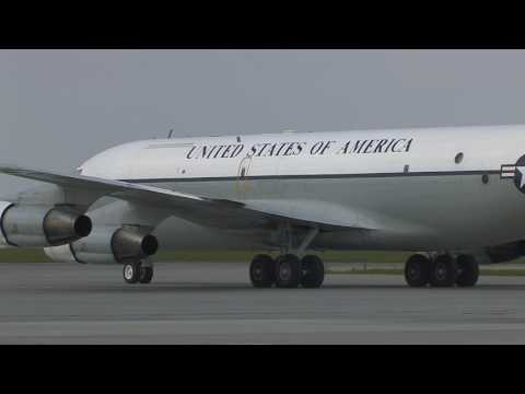 OC-135B USAF in Prague, 14,4,2017