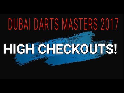 High Finishes - Dubai Darts Masters 2017 HD 1080p