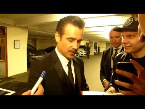 Colin Farrell in Hamburg