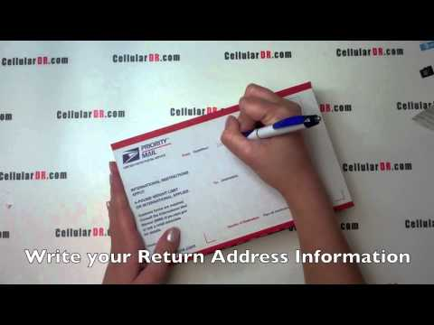 Cell Phone Packing & Shipping Instructions