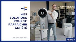 Les refroidisseurs d'air : Quelles différences avec les climatiseurs mobiles ?