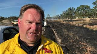 Skyway Fire May 11, 2018
