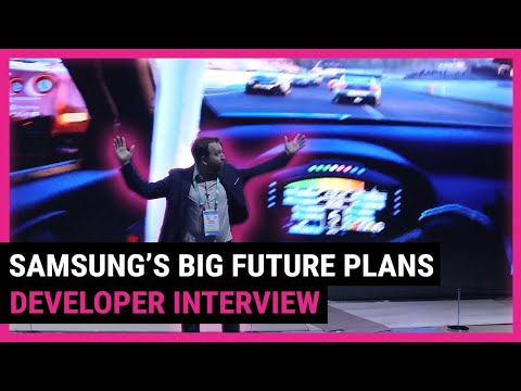Samsung tell us about their future plans including 8K, AI and streaming | TechRadar at CES 2020