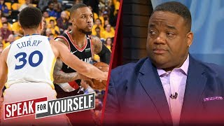 Lillard rather prove he's better than Steph than beat Warriors - Whitlock | NBA | SPEAK FOR YOURSELF