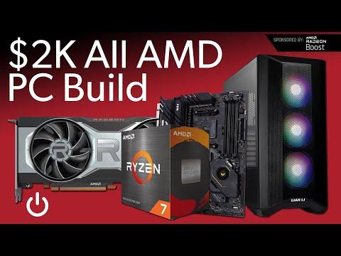$2,000 All AMD Live PC Build w/ Radeon RX 6700 XT, Ryzen 7 5800X Lian Li Lancool II