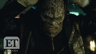 Adewale Akinnuoye-Agbajes Crazy Method Acting For Killer Croc  Suicide Squad