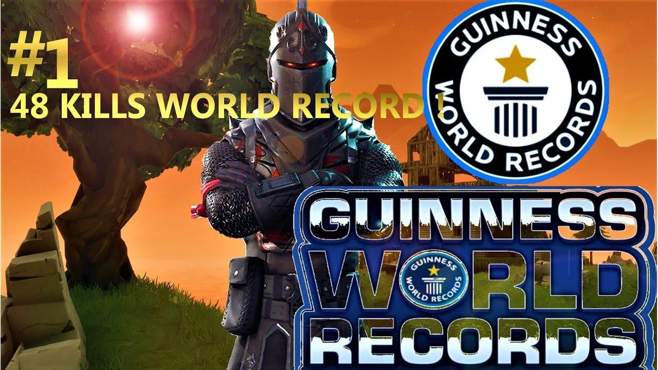 48 Kills Solo World Record Elemental Ray Fortnite Record