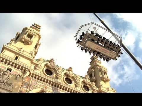 Les dix ans de Radio Monaco célébrés en plein ciel