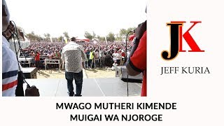 Muigai Wa Njoroge Launch at Kimende Part 01