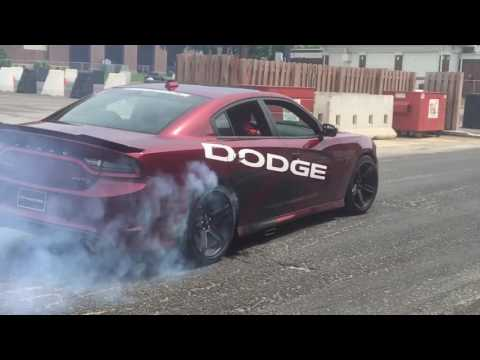 Dodge Drifting Thrill Rides at Mecum Auction 2017-Indy