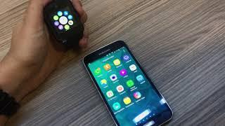 Smart Watch Akбllб Saat GT08 Anlatбm (wEKаLа SAAT HEDаYE)  Sim kartlб (Android аos Uyumlu)