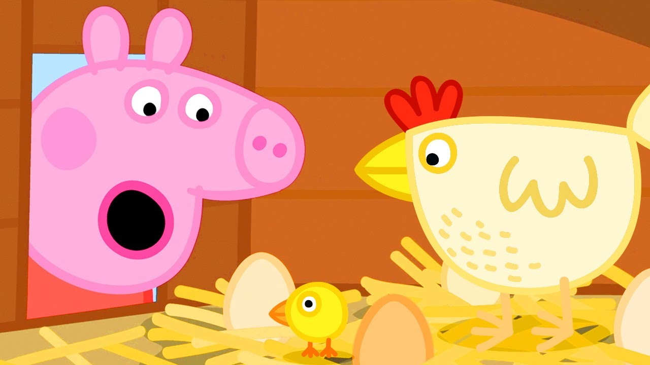 Peppa Pig Official Channel | Granny Pig's Chickens
