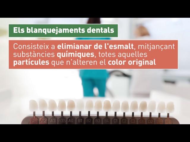 Els blanquejaments dentals