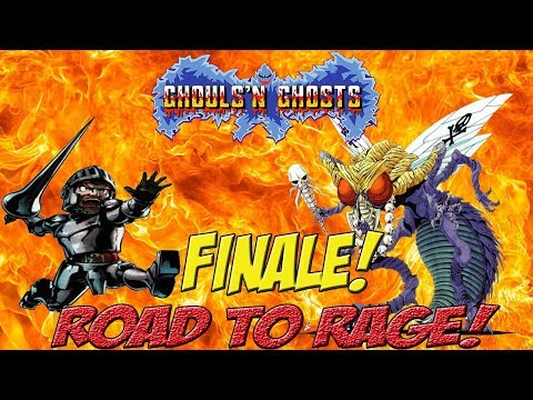Road to Rage! Max & Matt vs Ghouls & Ghosts! Finale! - YoVideogames