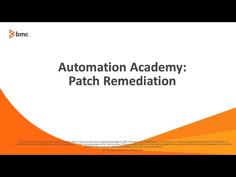 BSA: Patch Remediation - YouTube