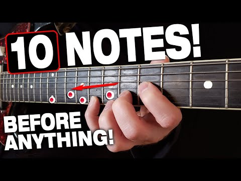 Play These 10 Notes Before Doing ANYTHING!