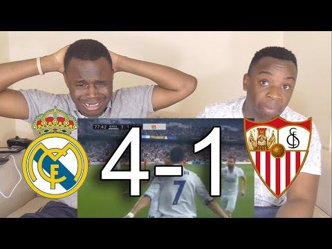 Real Madrid vs Sevilla 4-1 - All Goals Highlights: Reaction By MNT