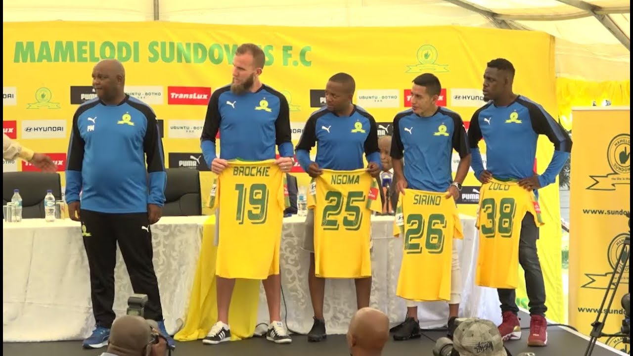 Sundowns show off new additions