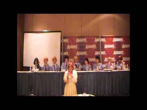 Ouran High School Host Club Q&A - Animefest 2014
