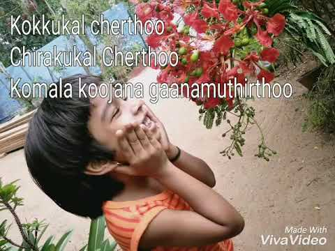 Iru  Hridayangalil  Onnayi veeshi karoake with lyrics