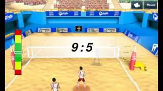 Мини обзор игры Волейбол 3D