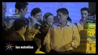 Los Aristemo causan revuelo durante su presentación a prensa | Las Estrellas