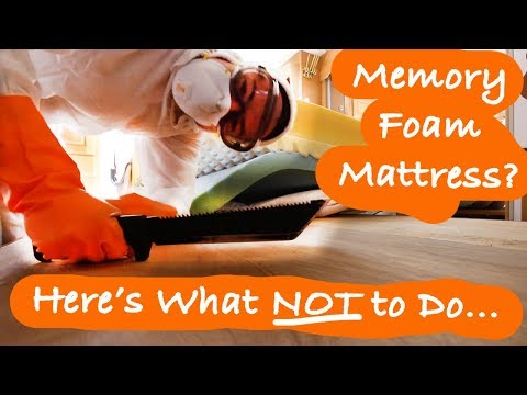 Have A Memory Foam Mattress??? | Here's What Not To Do... | New Family Dream | RV Mold