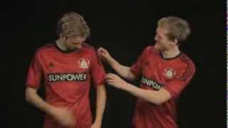 Bayer Leverkusen adidas 2012/13 Home Kit