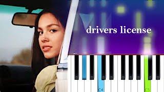 Olivia Rodrigo - drivers license  | Piano Tutorial