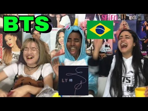 BTS - LOVE YOURSELF: TEAR ALBUM REACTION / REAÇÃO