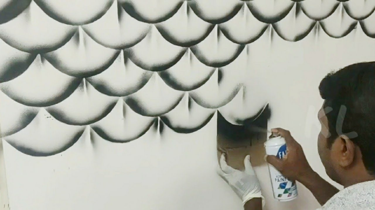 Easy & Creattive DIY wall Art Ideas and techniques with spray ...