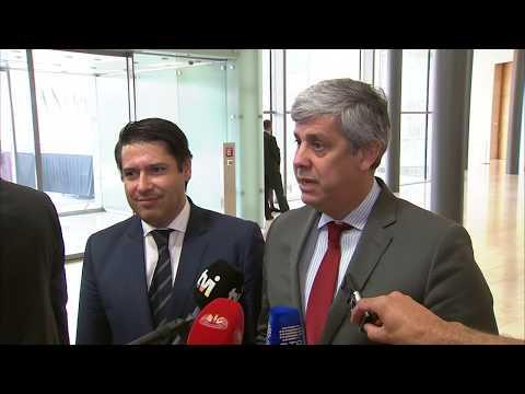 Ministro Das Finanças Sobre A Saída De Portugal Do Procedimento Por Défice Excessivo (Vídeo: UE)