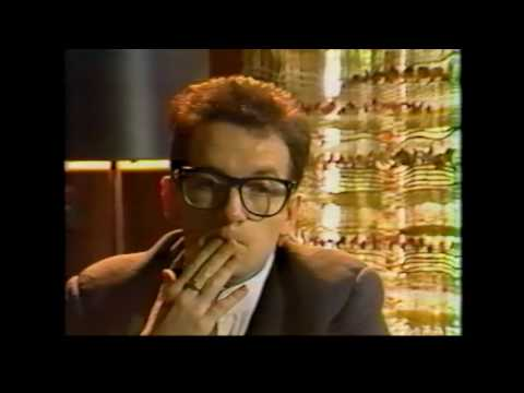 Elvis Costello (interview) - July 18th, 1982, unknown location, Berkeley, CA (JEMS Archive)