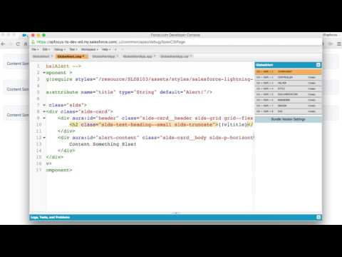 How to Create Your First Salesforce Lightning Compontent