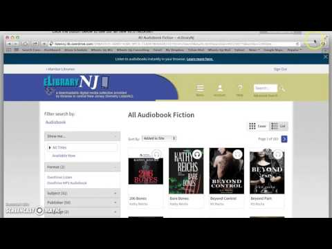 Overdrive Audiobook Tutorial for Library Content