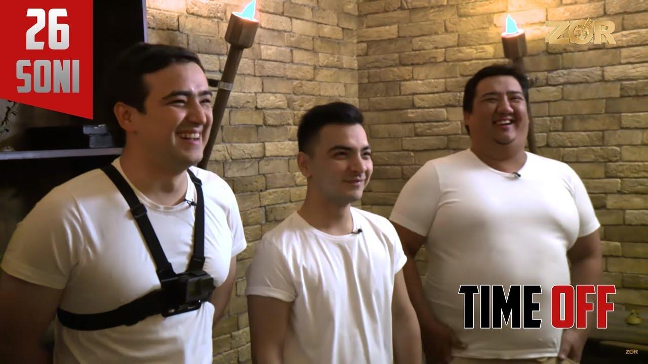 Time OFF 26-soni - Otabek Mirzaholov, Doniyor Hafizov, Bobur Pirmatov (17.10.2017)