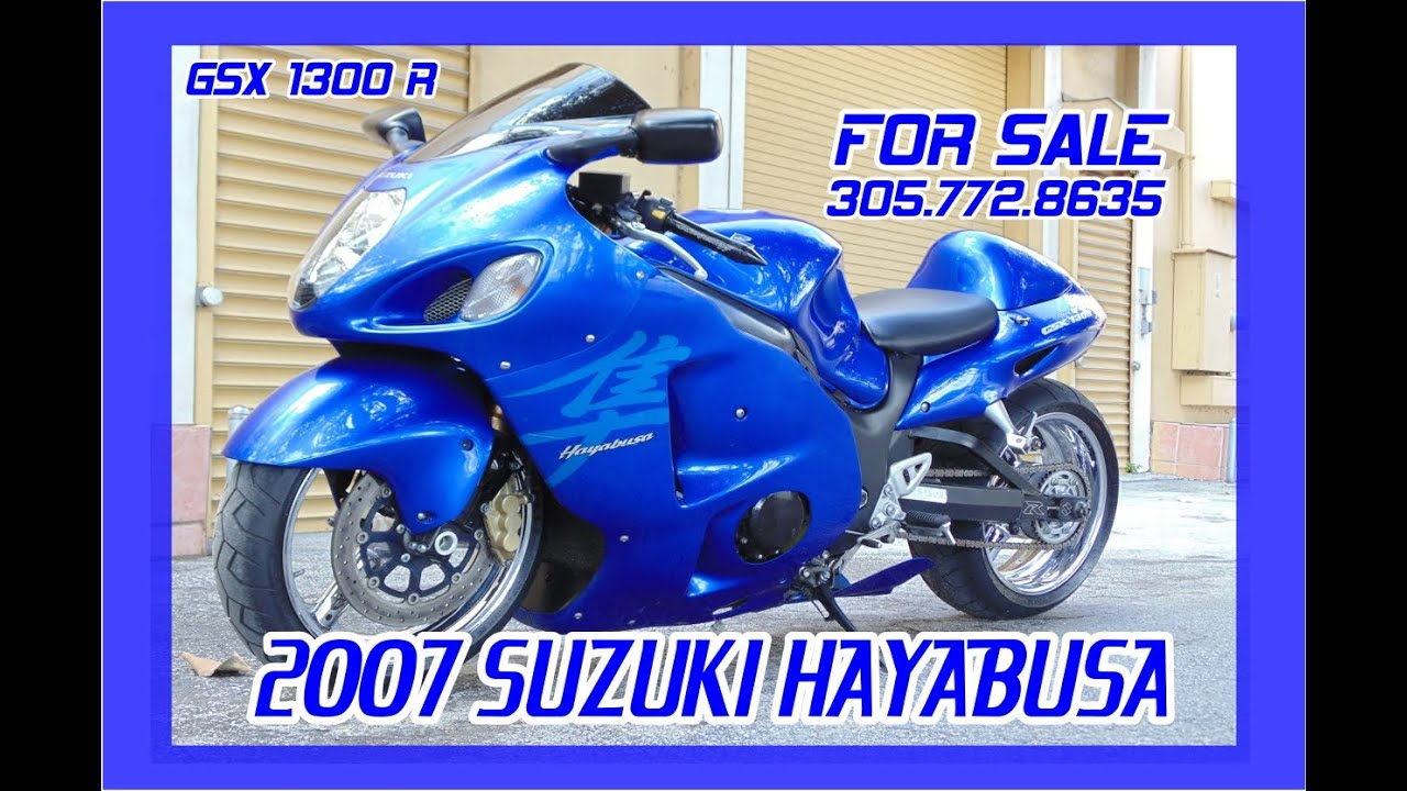 Suzuki Gsxr Hayabusa For Sale