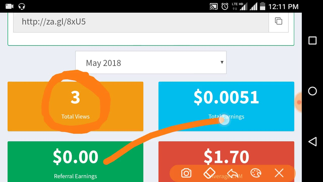 new earning website zagl com,Easy Way To Earn Money Online With za gl,Ean  100$ byShorten Link,za,c - YouTube