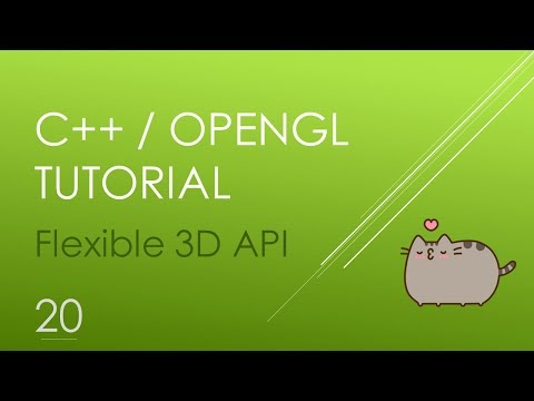OpenGL/C++ 3D Tutorial 20