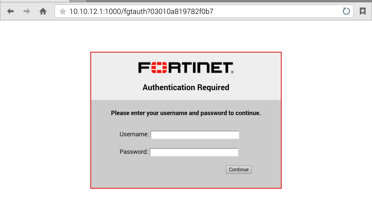 Configure Captive Portal in Fortigate - WiFi Login Page (5 4)