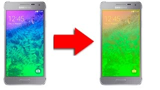Як змінити колір екрану на андроїді