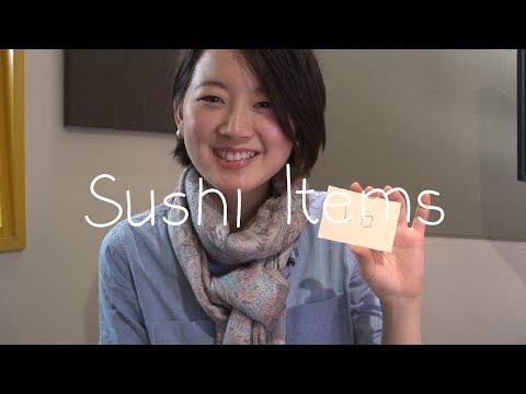 Japanese Words - Sushi Items (Việt Sub)