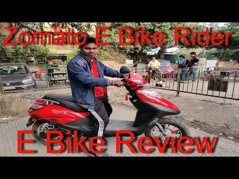 Zomato E-Bike Rider using Earth Ride Service | E-Bike की कहनी Zomato Rider की जुबानी |